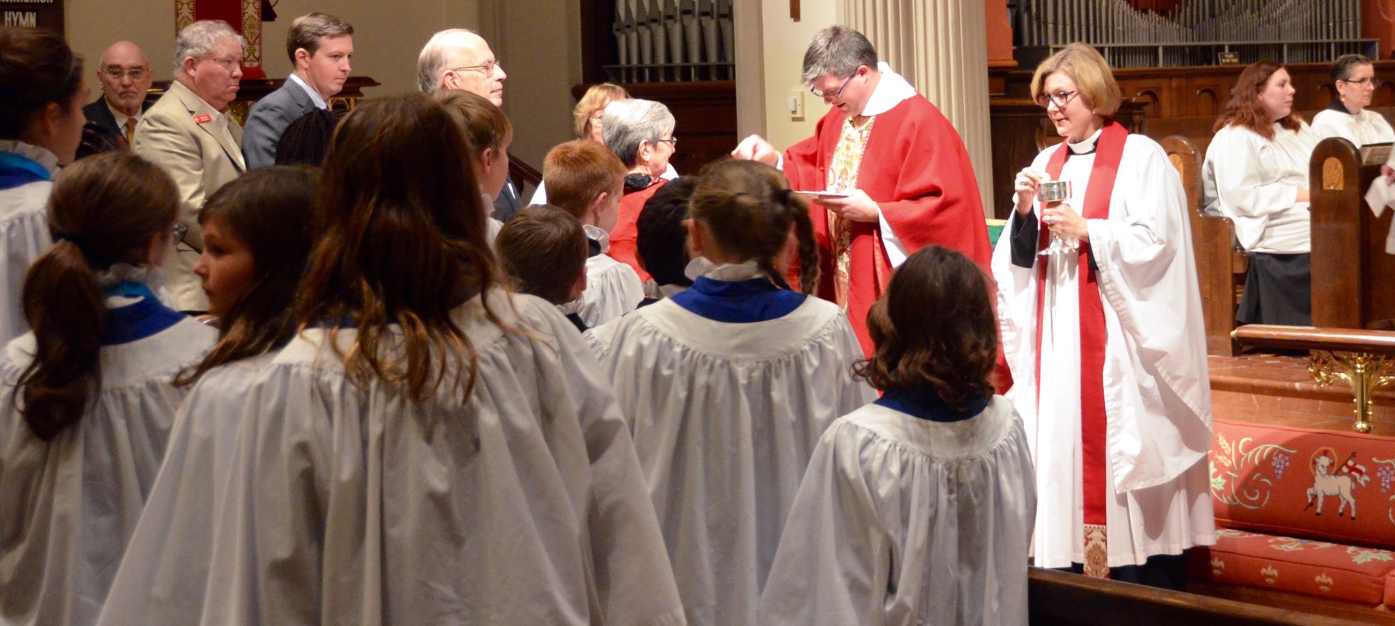 Receiving communion photo - faith