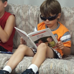 Reading at Summer Program for Youth