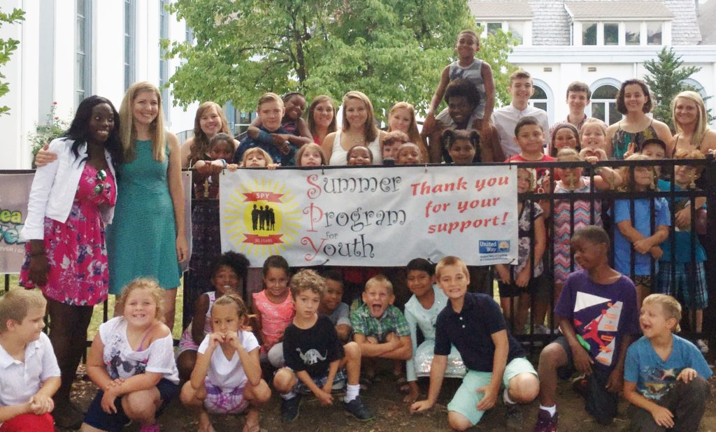Group photo - Summer Program for Youth