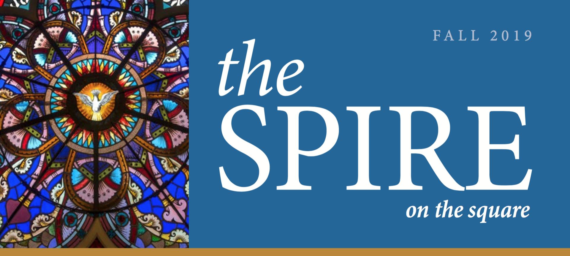 The Spire newsletter banner