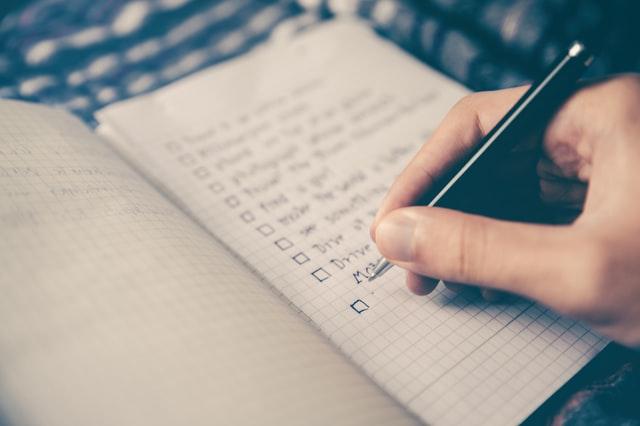 Writing in wish list